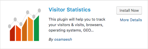 Visitors Statistics