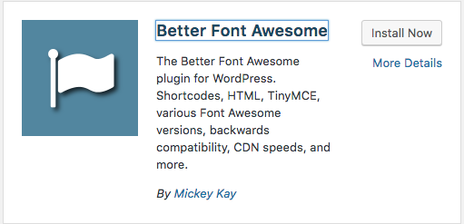 Better Font Awesome