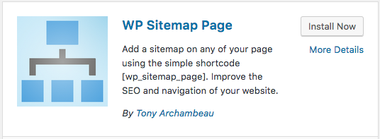 Wp Sitemap Page Wordpress Plugin