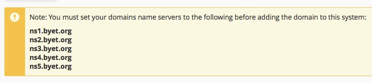 Domain-Name-Servers