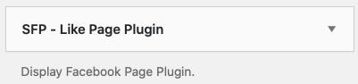 SPF - Like Page Plugin